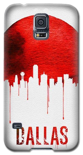 Dallas Skyline Red Galaxy S5 Case by Naxart Studio
