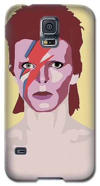 David Bowie Galaxy S5 Case by Nicole Wilson