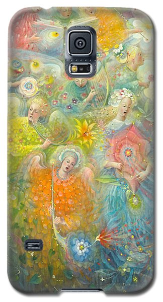 Daydream After The Music Of Max Reger Galaxy S5 Case by Annael Anelia Pavlova