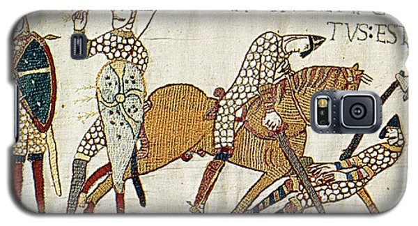 Death Of Harold, Bayeux Tapestry Galaxy S5 Case by Photo Researchers