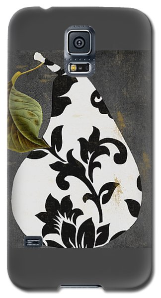 Decorative Damask Pear I Galaxy S5 Case by Mindy Sommers