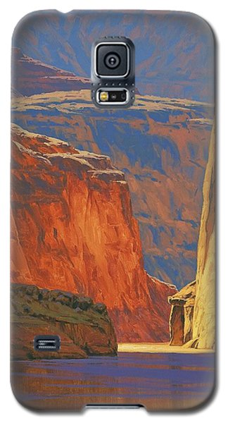 Deep In The Canyon Galaxy S5 Case by Cody DeLong