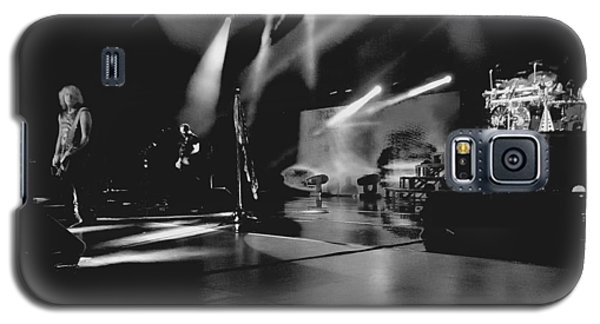 Def Leppard At Saratoga Springs 2 Galaxy S5 Case by David Patterson