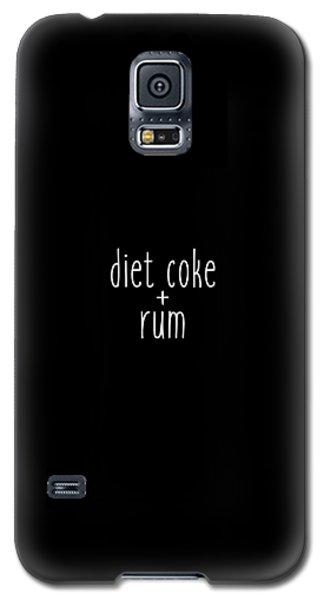Diet Coke And Rum Galaxy S5 Case by Cortney Herron