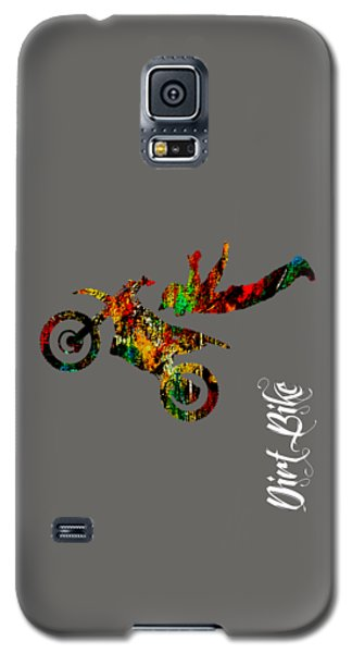 Dirt Bike Superman Collection Galaxy S5 Case by Marvin Blaine