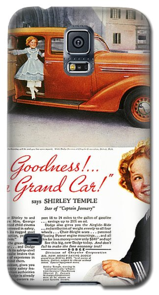 Dodge Automobile Ad, 1936 Galaxy S5 Case by Granger