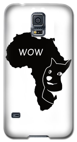 Dogecoin In Africa Galaxy S5 Case by Michael Jordan