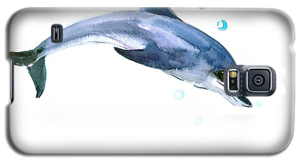 Dolphin Galaxy S5 Case by Suren Nersisyan