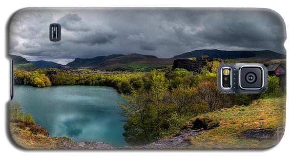 Galaxy S5 Cases - Dorothea Quarry Panorama Galaxy S5 Case by Adrian Evans