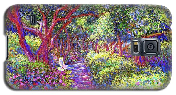 Dove And Healing Garden Galaxy S5 Case by Jane Small