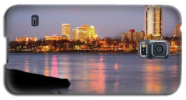Downtown Tulsa Oklahoma - University Tower View Galaxy S5 Case by Gregory Ballos