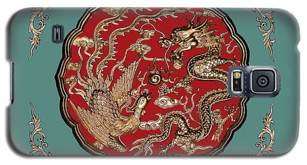 Dragon And Phoenix Galaxy S5 Case by Kristin Elmquist