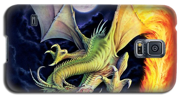 Dragon Fire Galaxy S5 Case by The Dragon Chronicles