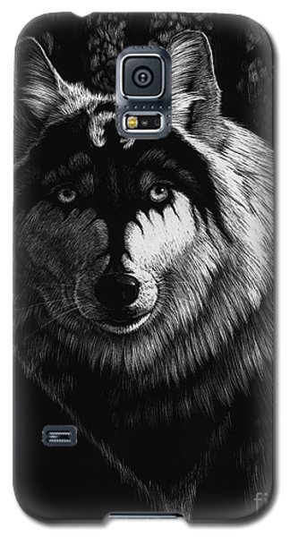 Dragon Wolf Galaxy S5 Case by Stanley Morrison