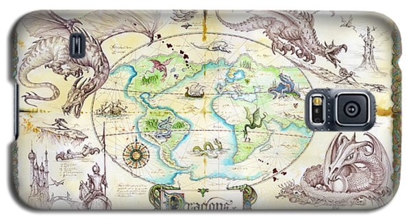 Dragons Of The World Galaxy S5 Case by The Dragon Chronicles - Garry Wa