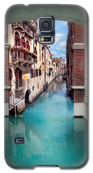 Buy Galaxy S5 Cases - Dreaming Of Venice Vertical Panorama Galaxy S5 Case by Az Jackson