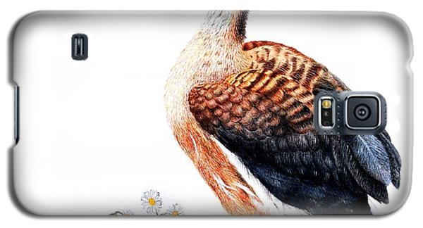 Duck And Daisies Galaxy S5 Case by Sandra Moore