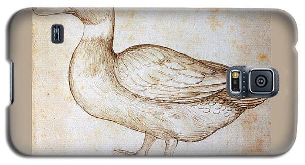 Duck Galaxy S5 Case by Leonardo Da Vinci