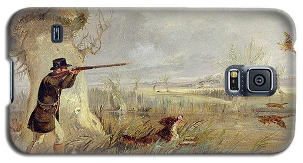 Duck Shooting  Galaxy S5 Case by Henry Thomas Alken