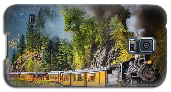 Durango-silverton Narrow Gauge Railroad Galaxy S5 Case by Inge Johnsson