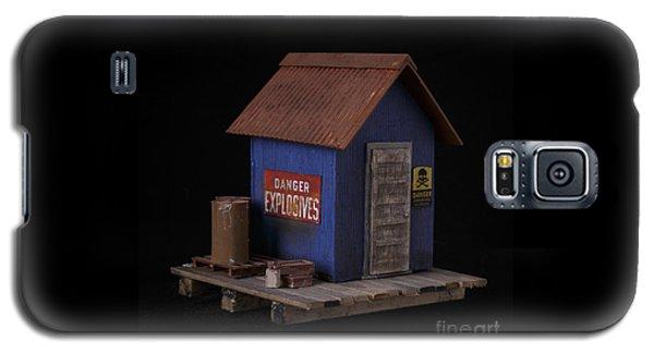 Sculptures Galaxy S5 Cases - Dynamite Shack Original Sculpture Galaxy S5 Case by Edward Fielding