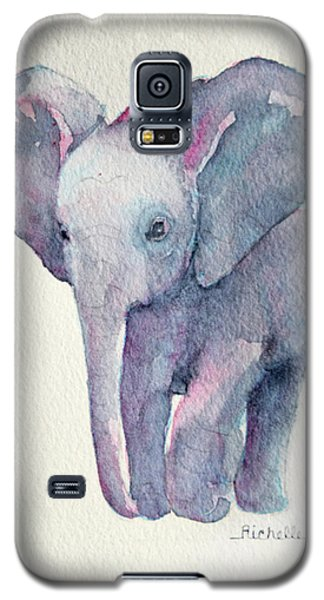 E Is For Elephant Galaxy S5 Case by Richelle Siska
