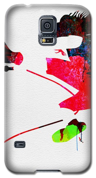 Eddie Watercolor Galaxy S5 Case by Naxart Studio