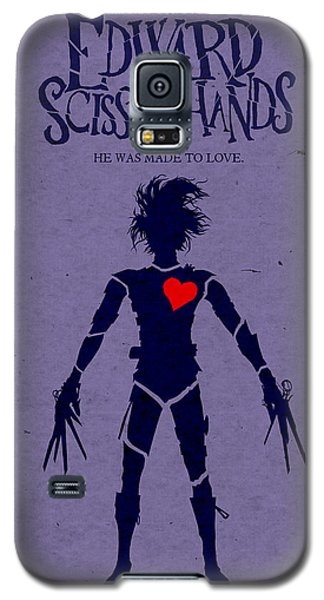 Edward Scissorhands Alternative Poster Galaxy S5 Case by Christopher Ables