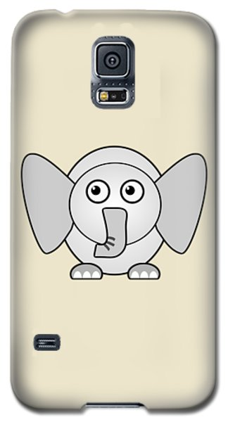 Elephant - Animals - Art For Kids Galaxy S5 Case by Anastasiya Malakhova