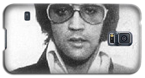 Elvis Presley Mug Shot Vertical Galaxy S5 Case by Tony Rubino