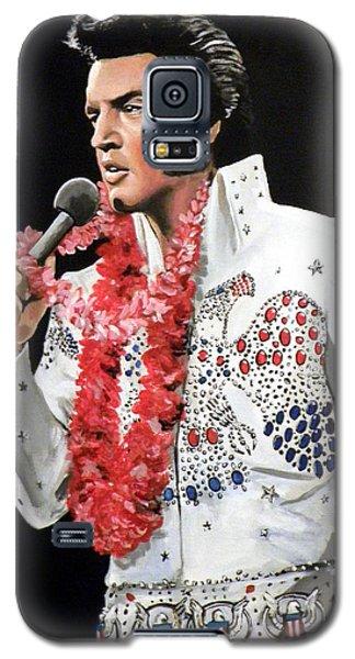 Elvis Galaxy S5 Case by Tom Carlton