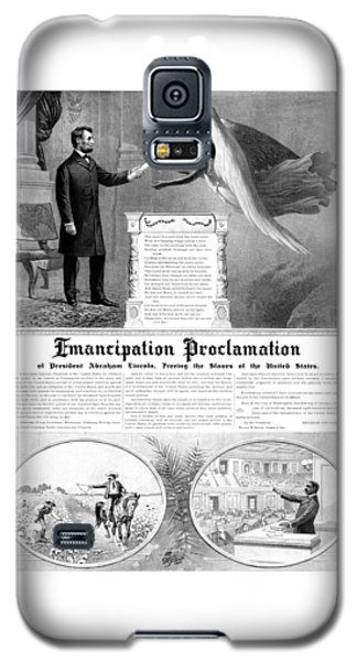 Emancipation Proclamation Galaxy S5 Case by War Is Hell Store
