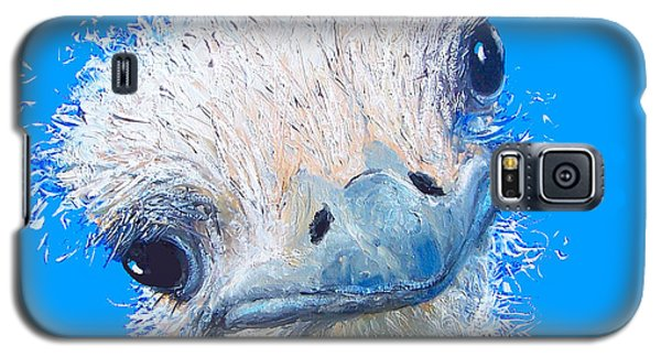 Emu Painting Galaxy S5 Case by Jan Matson
