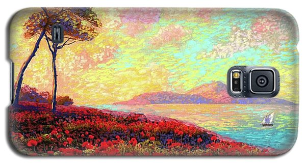 Enchanted By Poppies Galaxy S5 Case by Jane Small