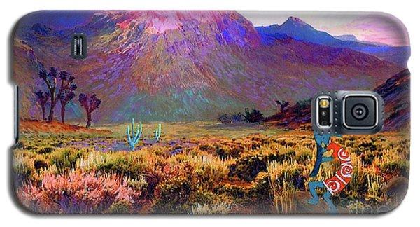 Enchanted Kokopelli Dawn Galaxy S5 Case by Jane Small