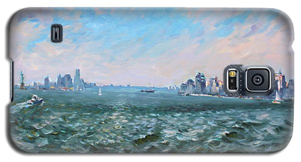 Entering In New York Harbor Galaxy S5 Case by Ylli Haruni