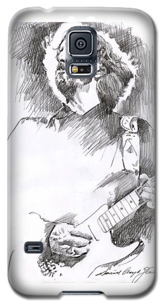 Eric Clapton Sustains Galaxy S5 Case by David Lloyd Glover