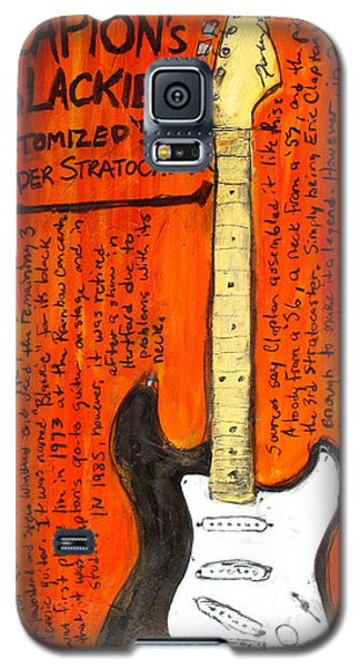 Eric Claptons Stratocaster Blackie Galaxy S5 Case by Karl Haglund