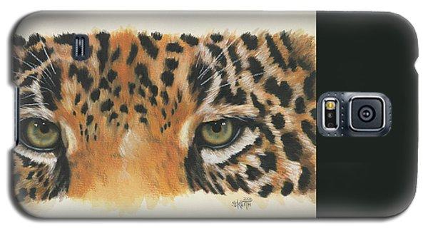 Buy Galaxy S5 Cases - Eye-Catching Jaguar Galaxy S5 Case by Barbara Keith