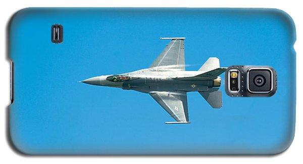 F-16 Full Speed Galaxy S5 Case by Sebastian Musial