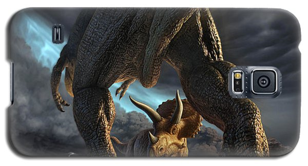 Face Off Galaxy S5 Case by Jerry LoFaro