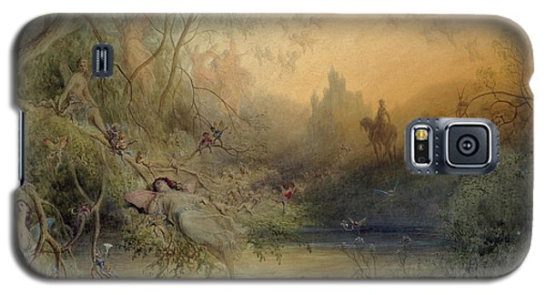 Fairy Land Galaxy S5 Case by Gustave Dore
