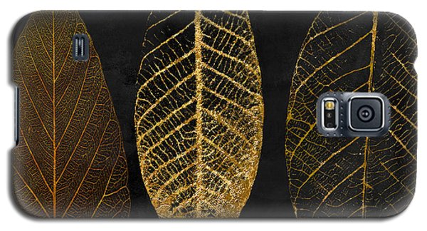 Fallen Gold II Autumn Leaves Galaxy S5 Case by Mindy Sommers