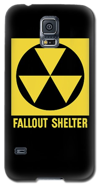 Recently Sold -  - Buy Galaxy S5 Cases - Fallout Shelter Sign Galaxy S5 Case by War Is Hell Store