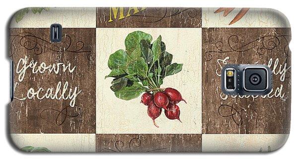 Farmer's Market Patch Galaxy S5 Case by Debbie DeWitt
