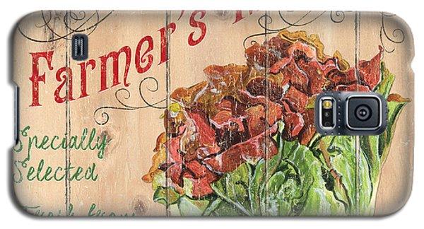 Farmer's Market Sign Galaxy S5 Case by Debbie DeWitt