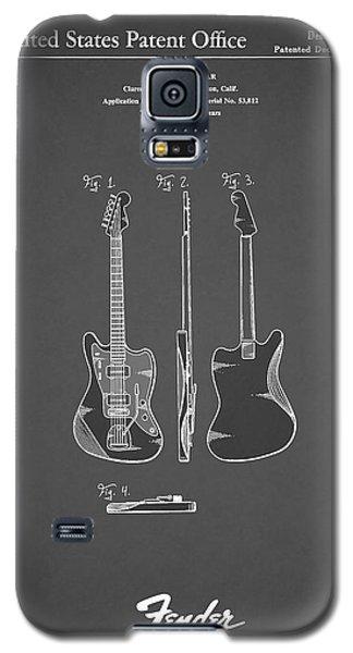 Music Galaxy S5 Cases - Fender Electric Guitar 1959 Galaxy S5 Case by Mark Rogan