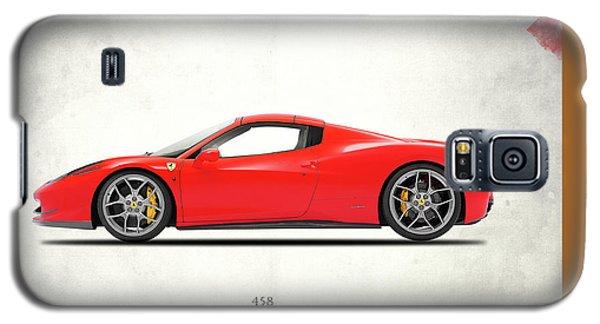 Ferrari 458 Italia Galaxy S5 Case by Mark Rogan