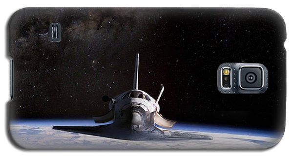 Final Frontier Galaxy S5 Case by Peter Chilelli