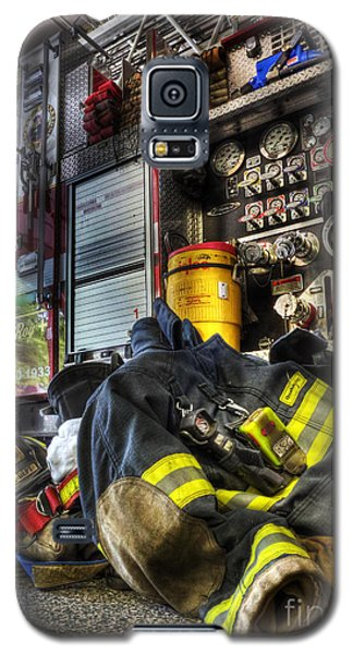 Fireman - Always Ready For Duty Galaxy S5 Case by Lee Dos Santos